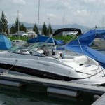 Boot: Ideales Wochenendboot: Sportboot mit Schlafkajüte